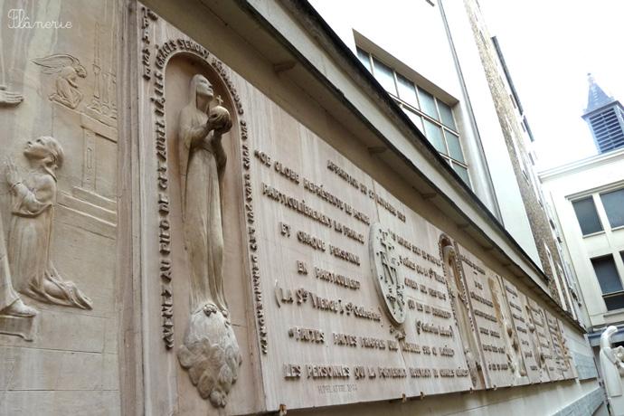 La chapelle Notre-Dame de la Médaille miraculeuse