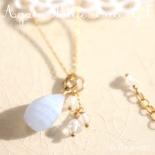 AGATE BLUE LACE ネックレス
